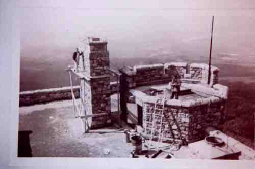 Whiteface Castle Construction ca 1935
